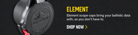 Element Scope Cover on dark background