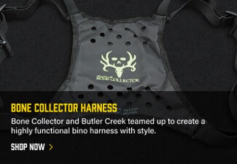 Bone Collector Harness on dark background