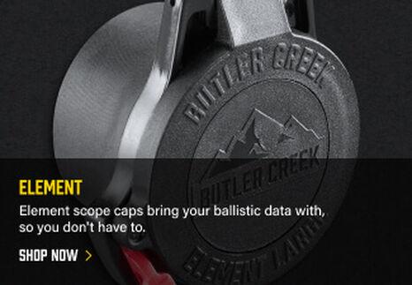 Element Scope Cover on dark background