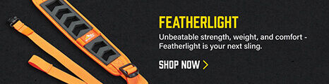 Featherlight Sling on dark background