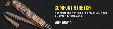 Comfort Stretch Sling on dark background
