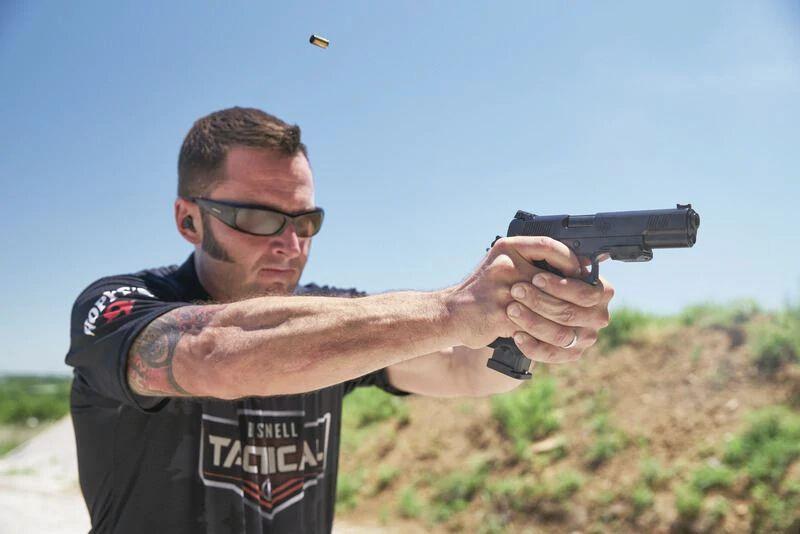 Photo of Butler Creek Ambassador John Scoutten Shooting