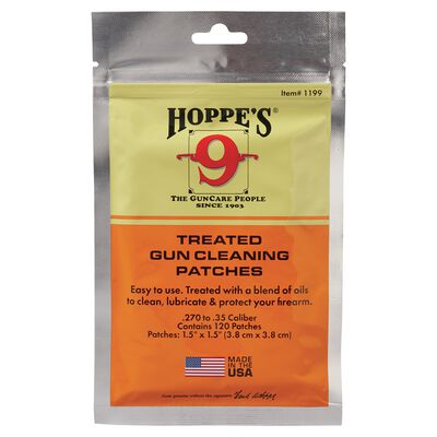.30 Treated Gun Cleaning Patches