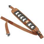 Featherlight Black Brown w/Swivels Rifle Slings