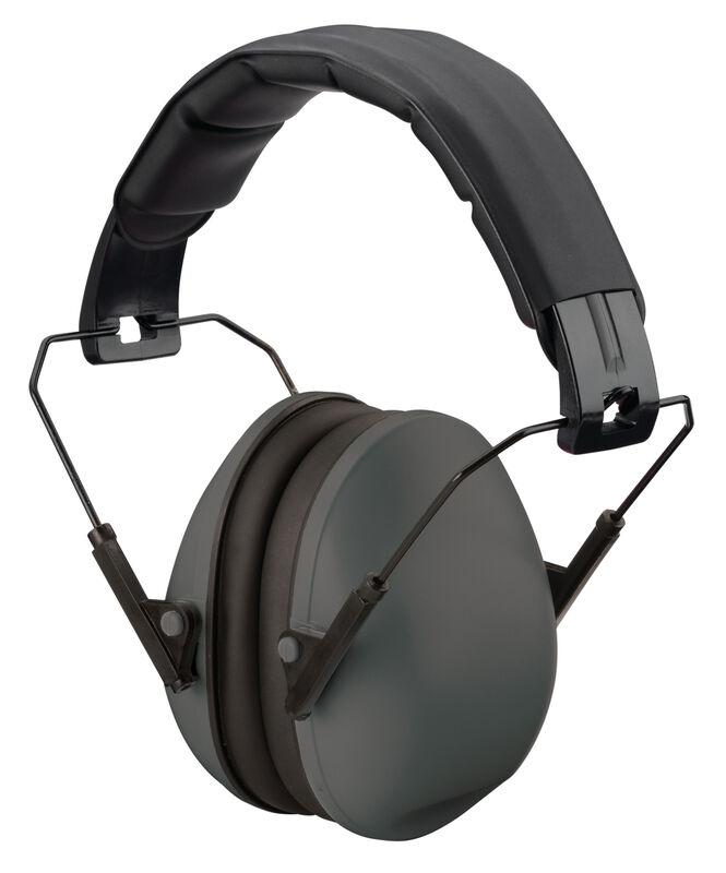 Black Slim Fit Ear Muffs-Passive