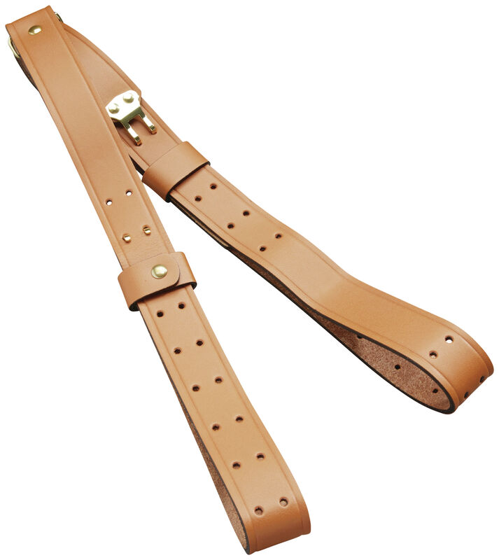 Leather Military Sling and Carry Strap